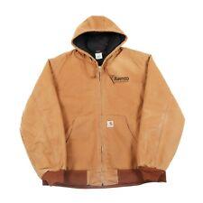 CARHARTT Hooded Chore Jacket | Mens XL | Coat Hoodie Hood Work Wear Vintage Duck