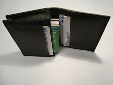 MORBIDA pelle porta carte di Credito Business Card Holder
