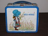VINTAGE ALADDIN HOLLY HOBBIE METAL LUNCH BOX