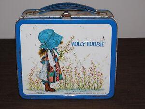 VINTAGE ALADDIN HOLLY HOBBIE METAL LUNCH BOX