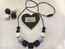 Silicone Sensory Necklace for Mum (was teething) Gift Beads Aus Sell Mono