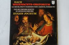 Bach Weihnachts Oratorium komp Jochum Ameling Fassbaender Prey Laubenthal (LP25)