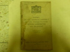Un Special Committee Jewish Arab Partition Plan Report Aug 1947 Israel