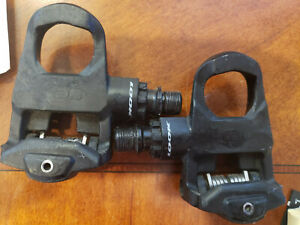 Look Keo Classic Road Bike Pedals Black Red (No Cleats Included) Made in France