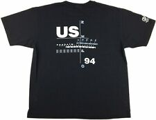 Vintage 1994 U.S. Open Usa Table Tennis 2-Sided Graphic Single Stitch T-Shirt