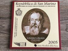 SAN MARINO 2 EURO COMMEMORATIVI FDC GALILEO GALILEI 2005