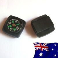 Survival Watch Band Button Compass | Paracord Button Compass | Survival Compass