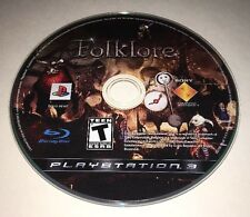 Folklore (Sony PlayStation 3, 2007) Disk Only