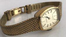 Vintage - DUGENA CLASSIC Damen Uhr mechanisch Handaufzug vergoldet -funktioniert