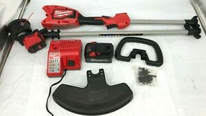 Milwaukee Straight Shaft String Trimmer Weed Eater M18 Charge 18v Battery 6AH N