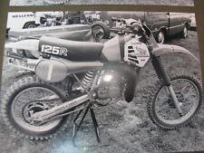 Photo Honda CR125R #1 Motorcross Markelo (NED) 1981