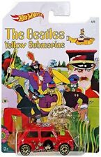 "HOT WHEELS BEATLES YELLOW SUBMARINE ""MORRIS MINI"" FREE SHIPPING"