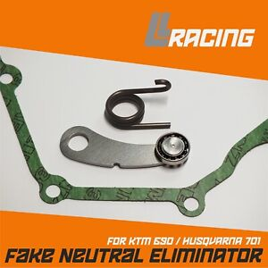 KTM 690 & Husqvarna 701 False neutral eliminator kit + FREE Gasket
