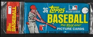 1981 TOPPS Baseball GROCERY CELLO SEALED 36 Card RACK PACK ~ HOF TIM RAINES RC ?