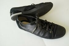 y-3 yohji yamamoto x adidas black low profile sneakers…size us8/uk6.5/eu40…vgc..