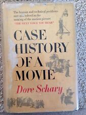 CASE HISTORY OF A MOVIE BY DORE SCHARY - RARE 1950 1ST EDITION - HARDCOVER, DJ