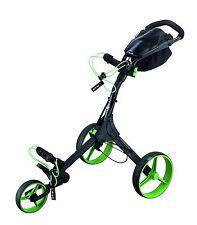 Big Max IQ+ Golftrolley - neues Modell - Farbe: schwarz - lime , Neu!