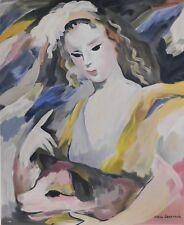 Lithografie Marie Laurencin - La Fille avec son Chien