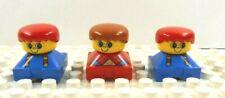 Lego Duplo Figure 3 Little Kids Vintage 1980's