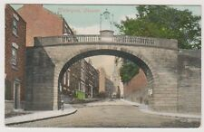 Cheshire postcard - Watergate, Chester - P/U 1906