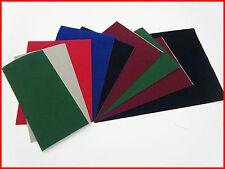 Self Adhesive Felt Sheet Velour Craft DC FIX Vinyl 9 pieces Lot SPECIAL PRICE
