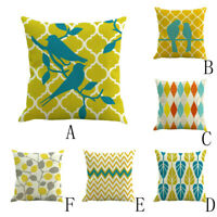 2019 Hot Easter Sofa Bed Yellow Festival Pillow Case Cushion Cover Home Decor