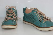 Basket GEOX Cuir Turquoise T UK 4 / T 7 US / T 37 EUR TTBE