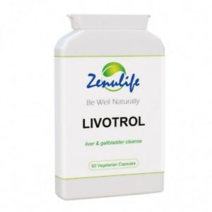 Liver Detox Diet Herbal Cleanse Tablets Supplements x 60 Capsules Pills LIVOTROL