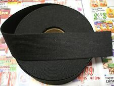 1.1/2 yards**.Black* 11/2 inch heavy duty elastic band
