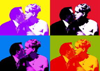 Andy Warhol Untitled Giclee Canvas Print Paintings Poster Reproduction Copy