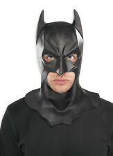 ADULT BATMAN LATEX FULL MASK THE DARK KNIGHT RISES BATMAN COSTUME MASKS W/ COWL