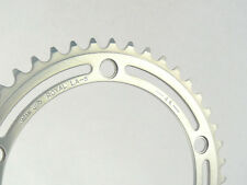 "SR Royal Chainring 44t 3/32"" 144Bcd Vintage Road Bike FIT CAMPAGNOLO NUOVO NOS"