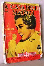 La casa degli scapoli - Celletti - il romanzo della rosa - dicembre 1935