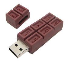 Chiavetta di memoria USB Flash Drive Tabella Cioccolato 4 GB