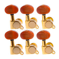 Guitar String Tuning Pegs Tuners Machine Heads For Lap Steel 6R Gold