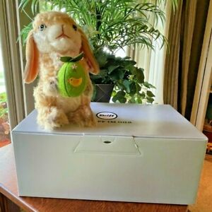 """STEIFF (with ear button) """"Cottontail Bunny), No. 346, Certificate & Box"""