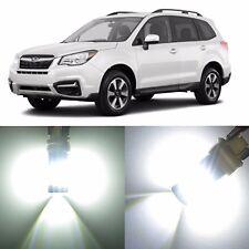Alla Lighting Rear Turn Signal Light 1156 White 12V LED Bulbs for Subaru Tribeca