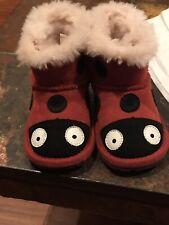 Emu Australia Ladybird Walker Baby Shoes Boots Sz12-18 Months