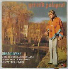 Pochette Tabac 45 tours Gérard Palaprat 1970