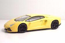 "MondoMotors 53079 Lamborghini AVENTADOR LP700-4""Gialla"" - METAL Scala 1:43"