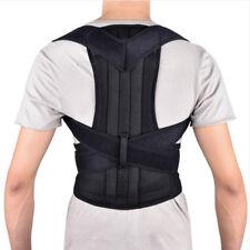 Adjustable Unisex Back Shoulder Support Belt Posture Corrector Brace Pain Relief