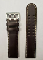 Original Hamilton Khaki Field H696190 / H706251 Brown Leather 22mm Band Strap