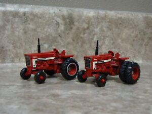 Ertl 1/64 Farmall IH International 966 1066 Tractor Farm Toy Duals