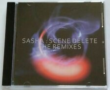 Sasha - Scene delete. The remixes (CD, Compilation) 2017 RARE!