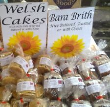 Bara Brith and Welsh Cakes offer