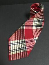 """Vintage FORTÉ Necktie – 4 ½"""" Extra Wide Plaid Tie"""
