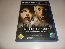 PlayStation 2  PS 2  Baphomets Fluch 3 - Der schlafende Drache