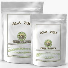500 Kapseln ALA  Alpha Liponsäure á 250mg Antioxidantien  Anti Aging Gesundheit