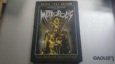 METROPOLIS DVD RETRO 1984 EDITION STEELBOOK UK R2 RELEASE EUREKA