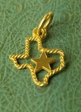 James Avery Retired 14k Texas Charm Uncut Mint Condition